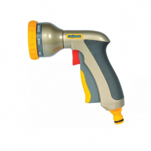 Hozelock 2691 8 Pattern Multi Plus Spray Gun Metal Body